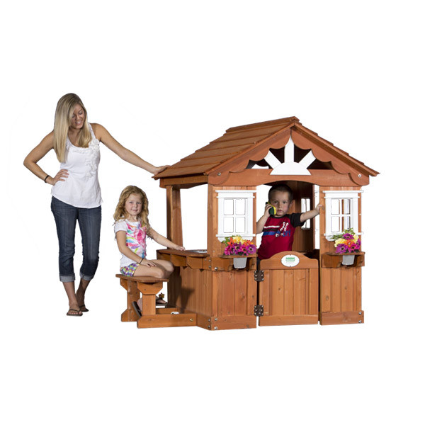 Backyard Discovery Scenic Playhouse | Totally Swing Sets
