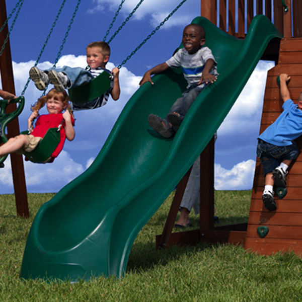 Backyard Discovery Wave Slide - Green