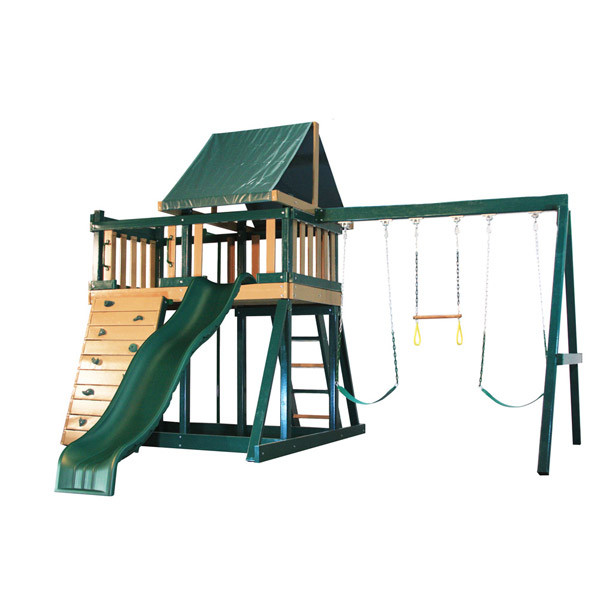 Congo Monkey Playsystem I - Green & Brown