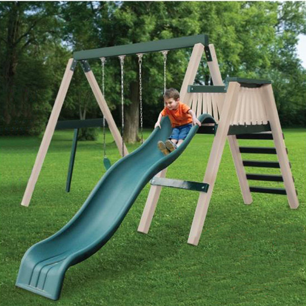 Congo Swing'N Monkey 2 Position Play Set Green and Sand