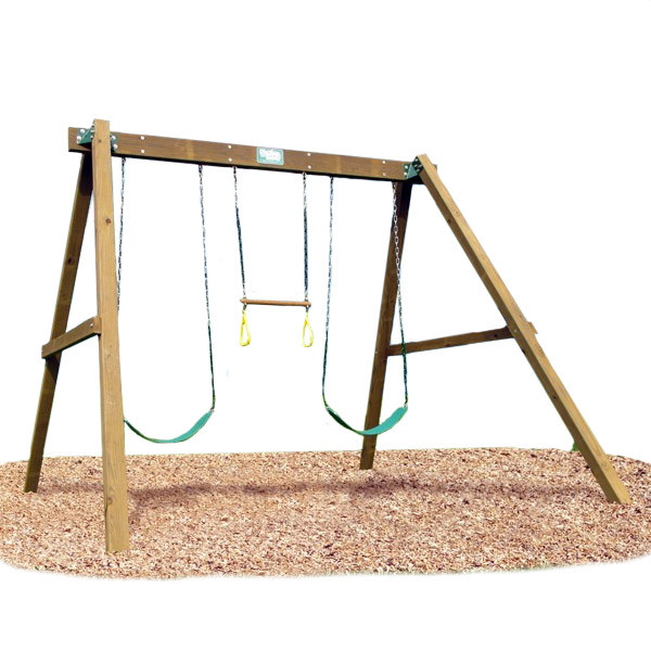 Creative Playthings Playtime Classic Swing Set I