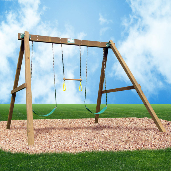 Creative Playthings Playtime Classic Swing Set I bkgd