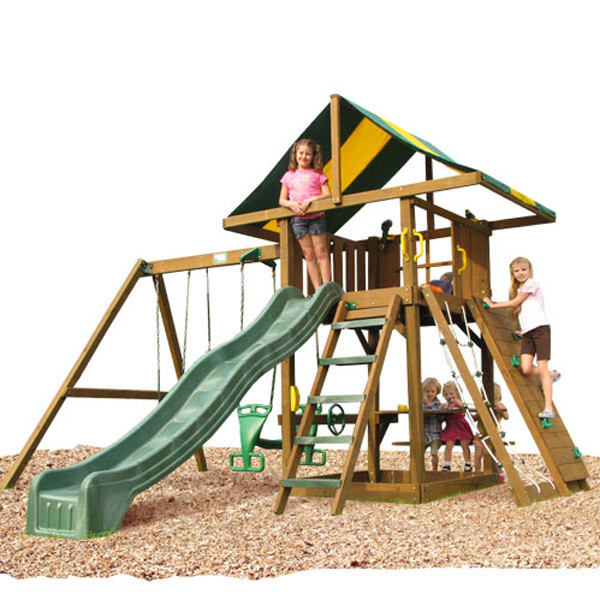 Creative Playthings Playtime Lincoln Swing Set I