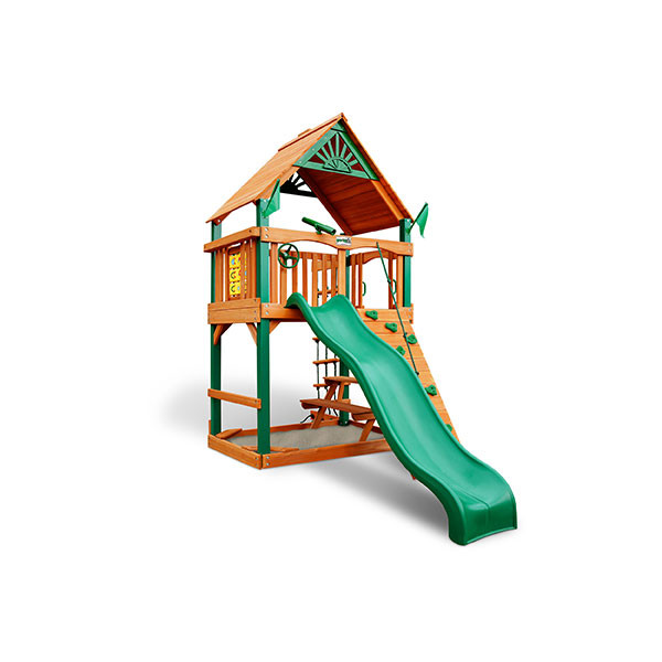 Gorilla Playsets Chateau Tower Alt