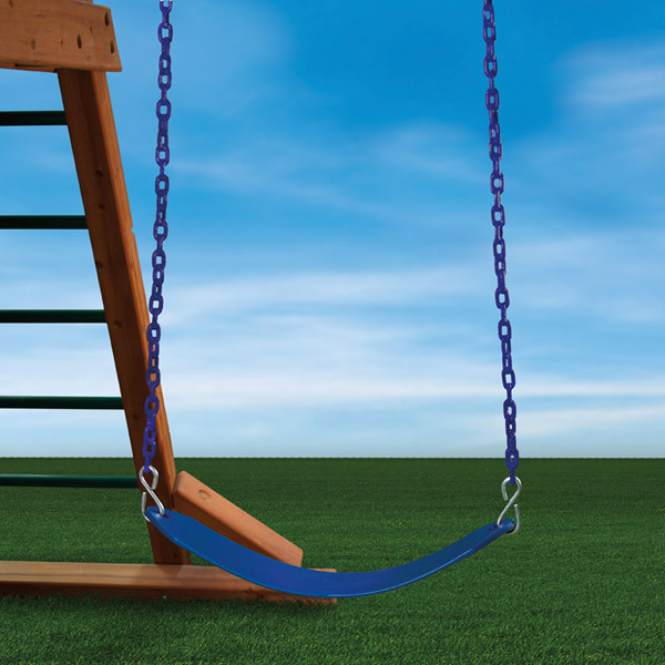 Gorilla Playsets Deluxe Swing Belt - Blue