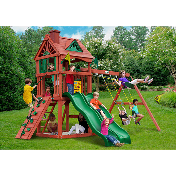Gorilla Playsets Double Down with Background