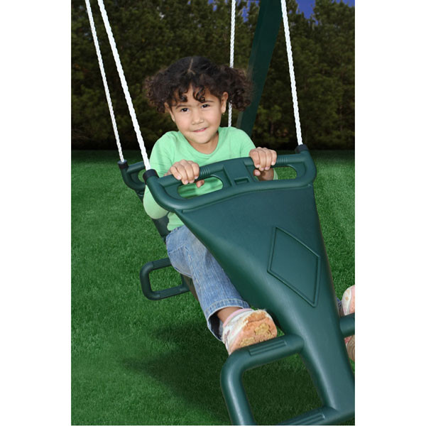 Glider Swing with Child