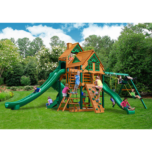 Gorilla Playsets Great Skye II Treehouse with Background