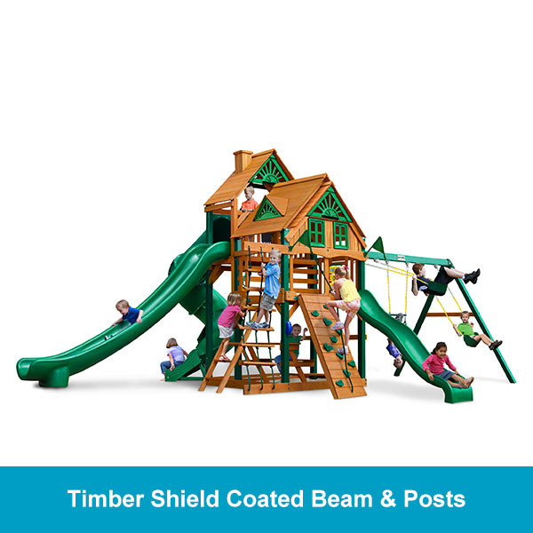 Gorilla Playsets Great Skye II Treehouse - Timber Shield Beam & Posts