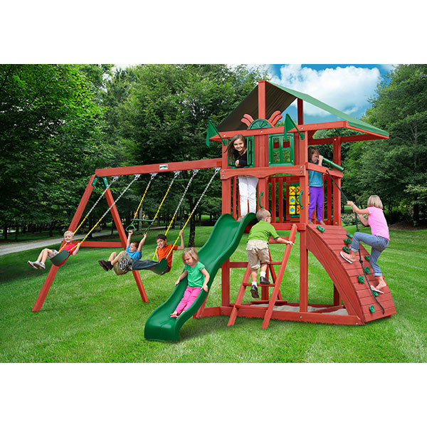Gorilla Playsets Highcrest with Background