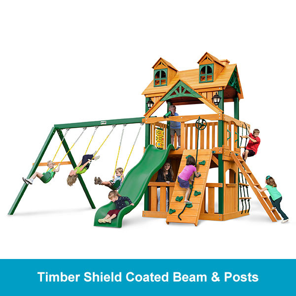 Gorilla Playsets Malibu Clubhouse Timber Shield Beam & Posts