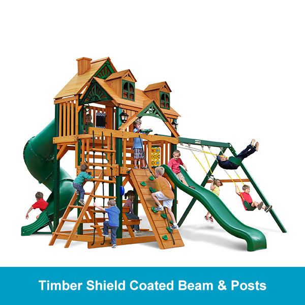 Gorilla Playsets Malibu Deluxe I Timber Shield Beam & Posts