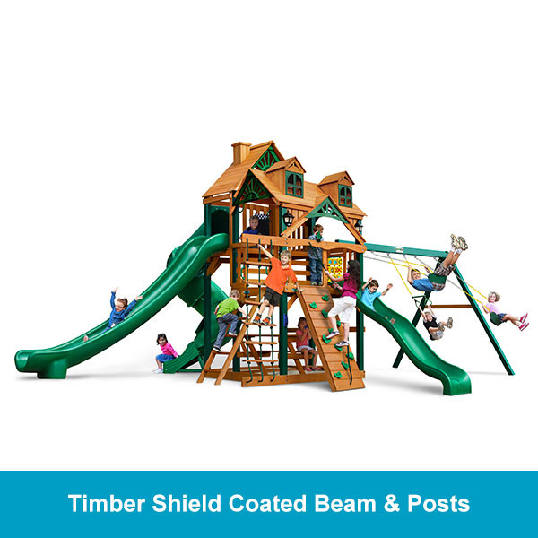 Gorilla Playsets Malibu Deluxe II Timber Shield Beam & Posts