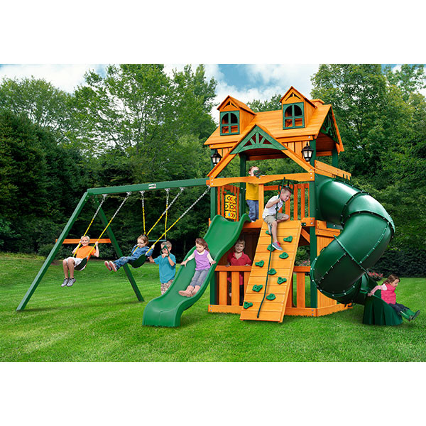 Gorilla Playsets Malibu Extreme Clubhouse with Background