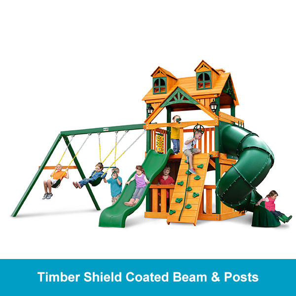 Gorilla Playsets Malibu Extreme Clubhouse Timber Shield Beam & Posts