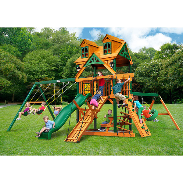Gorilla Playsets Malibu Frontier with Background