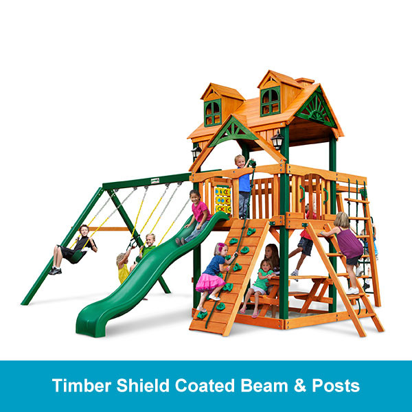 Gorilla Playsets Malibu Navigator Timber Shield Beam & Posts