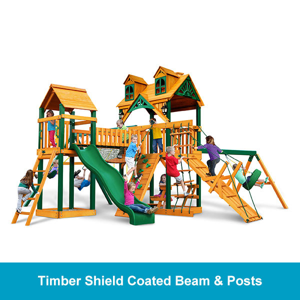 Gorilla Playsets Malibu Pioneer Peak Timber Shield Beam & Posts