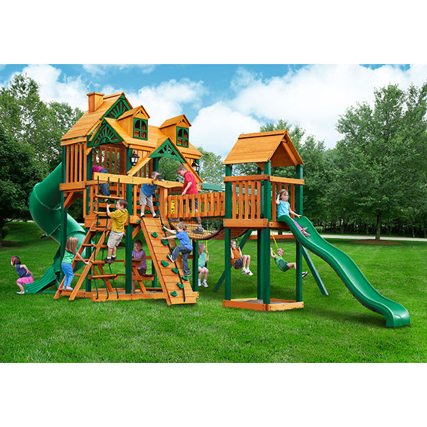 Gorilla Playsets Malibu Treasure Trove I with Background