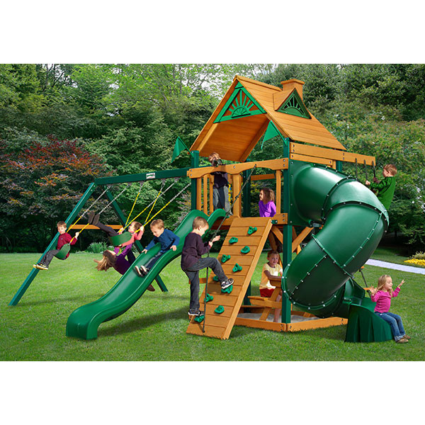 Gorilla Playsets Mountaineer with Background