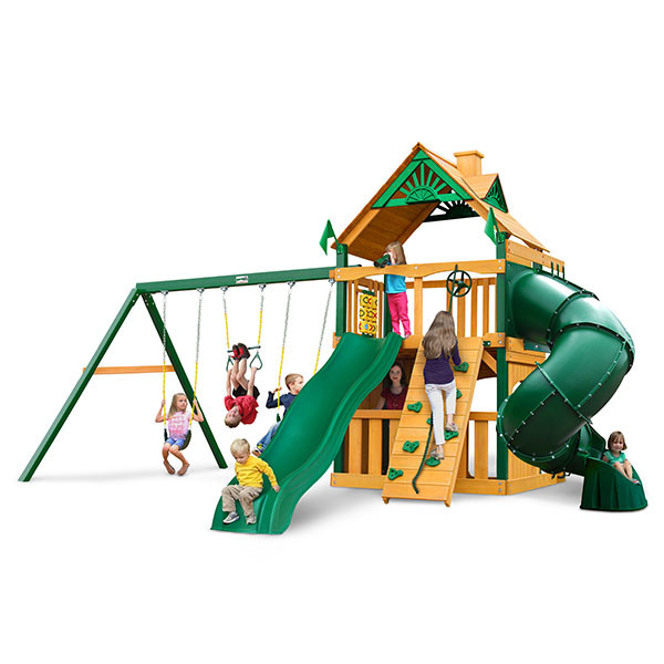 Gorilla Playsets Mountaineer Clubhouse