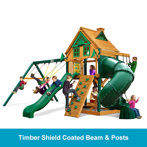 Gorilla Playsets Mountaineer Treehouse - Timber Shield Beam & Posts