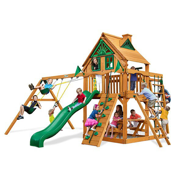 Gorilla Playsets Mountaineer Clubhouse Treehouse