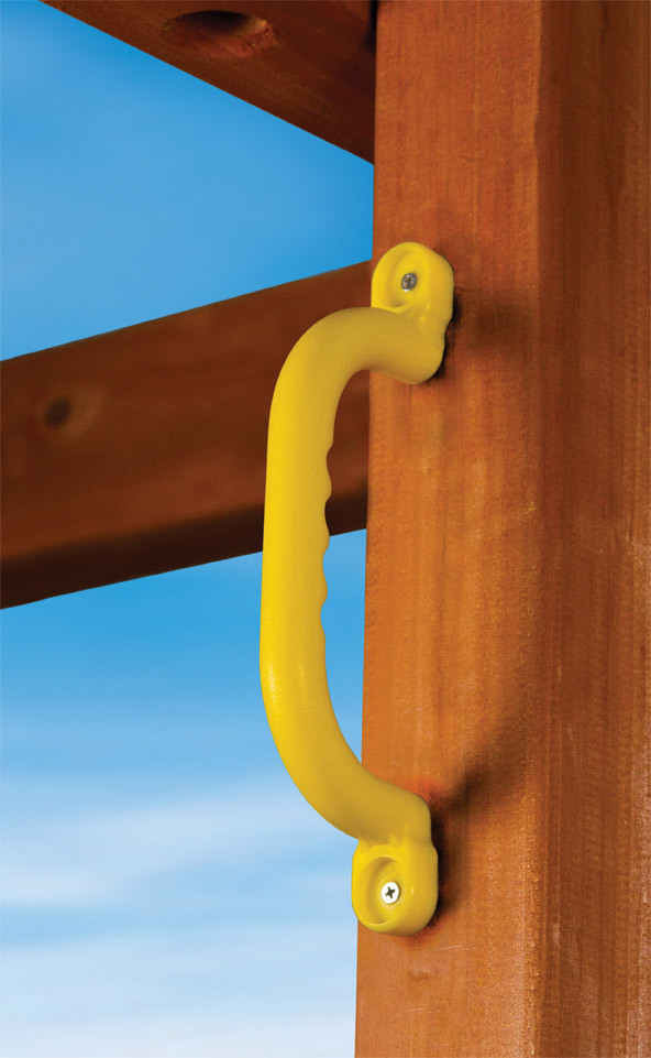 Gorilla Playset Plastic Safety Handles  - Yellow