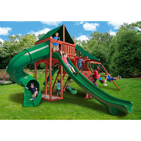 Gorilla Playsets Sun Climber Deluxe with Background