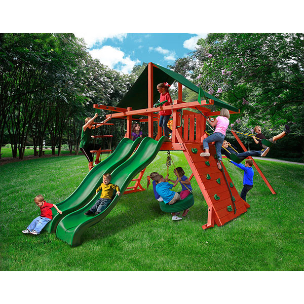 Gorilla Playsets Sun Climber Extreme with Background