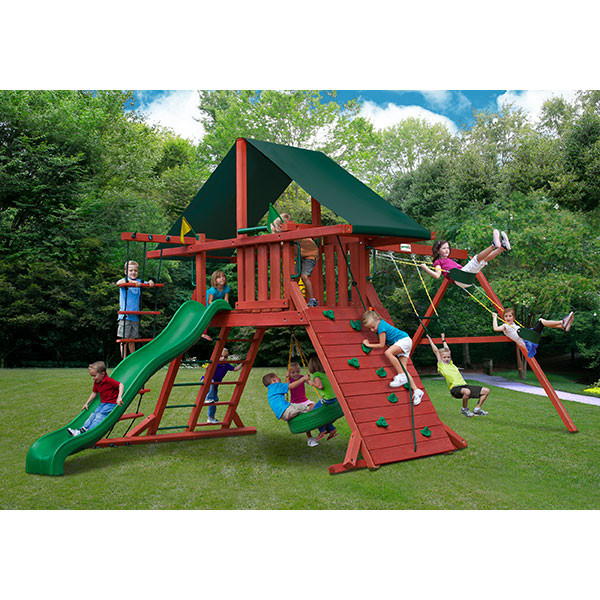 Gorilla Playsets Sun Climber I with Background