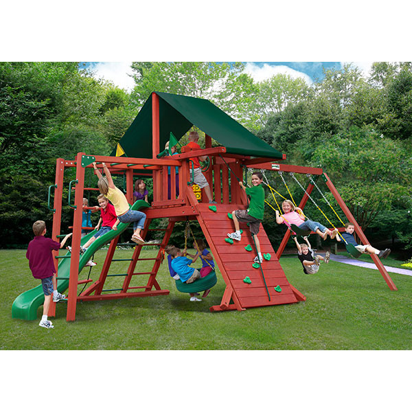 Gorilla Playsets Sun Climber II with Background