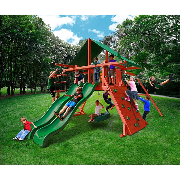 Gorilla Playsets Sun Valley Extreme with Background
