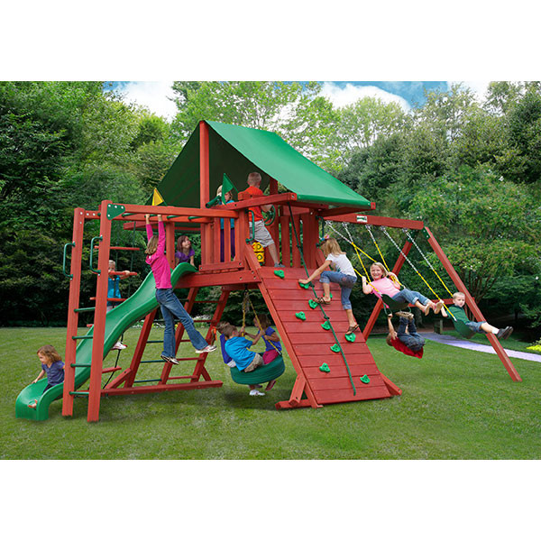 Gorilla Playsets Sun Valley II with Background