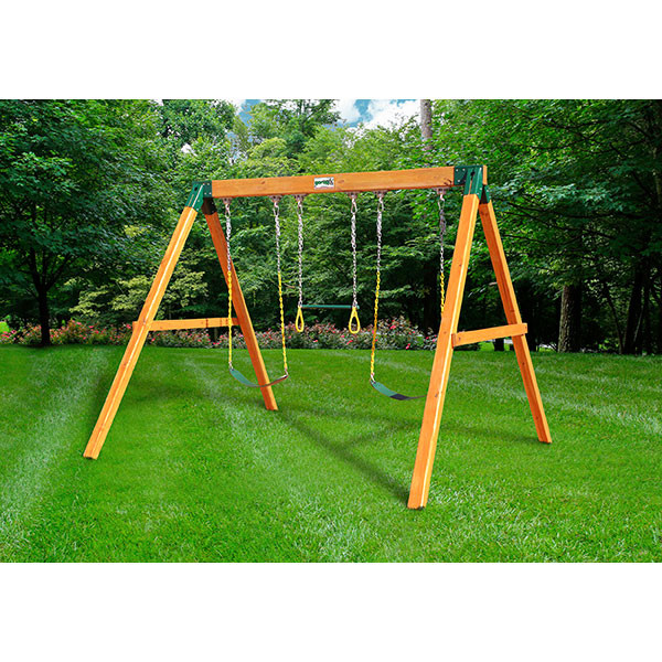 Gorilla Playsets Swing Station with Background