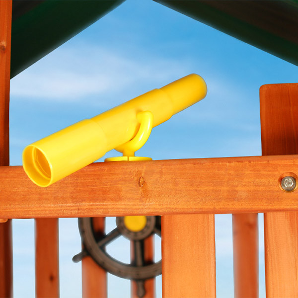 Gorilla Playsets Telescope - Yellow