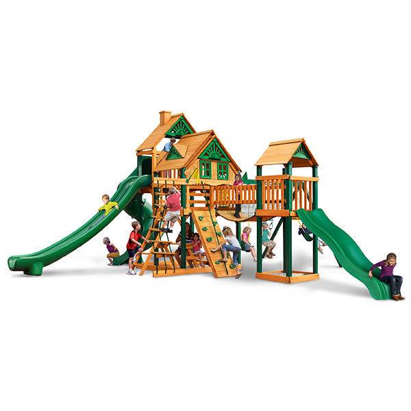 Gorilla Playsets Treasure Trove II Treehouse