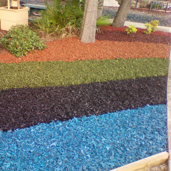 Playground Rubber Mulch Colors