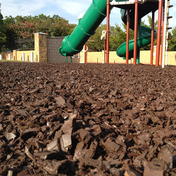 Close Up of Mulch