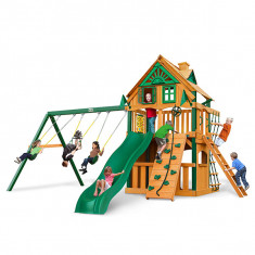 Gorilla Playsets Chateau Clubhouse Treehouse