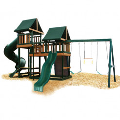 Congo Monkey Playsystem III - Green & Brown