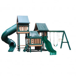 Congo Monkey Playsystem IV - Green & Brown
