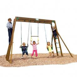 Creative Playthings Playtime Classic Swing Set II