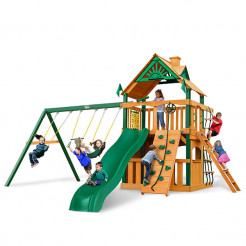 Gorilla Playsets Chateau II Clubhouse