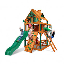 Gorilla Playsets Chateau Tower Treehouse
