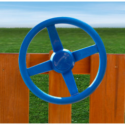 Gorilla Playsets Steering Wheel - Blue