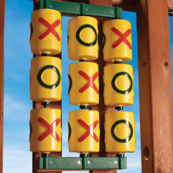 Gorilla Playsets Tic Tac Toe Spinner Panel