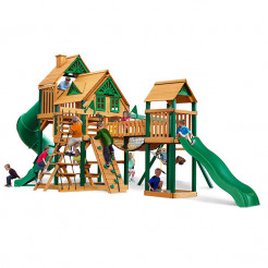 Gorilla Playsets Treasure Trove Treehouse
