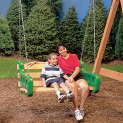 PlayStar Contoured Leisure Swing with Mom